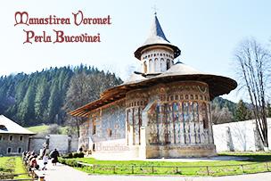 Manastirea Voronet - Perla Bucovinei